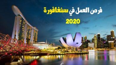 Photo of فرص العمل في سنغافورة للعرب 2020