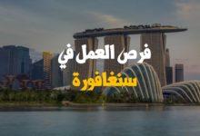 Photo of فرص العمل في سنغافورة للعرب