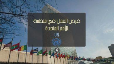 Photo of فرص العمل في منظمة الأمم المتحدة UN