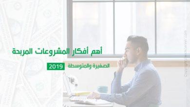 Photo of أفكار مشروعات مربحة صغيرة ومتوسطة 2019