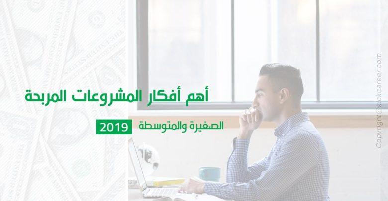 أهم-أفكار-المشروعات-المربحة-الصغيرة-والمتوسطة-2019