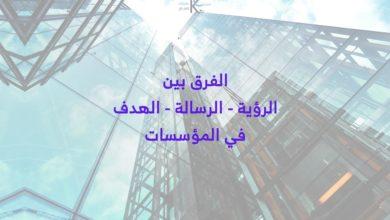 Photo of الفرق بين الرؤية والرسالة والهدف – كيف تتم صياغتهم للمؤسسات؟