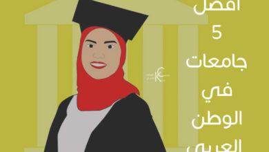 أفضل 5 جامعات في الوطن العربي