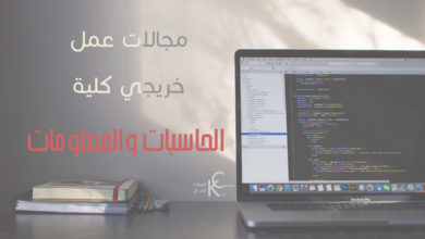 Photo of مجالات عمل خريجي كلية الحاسبات والمعلومات