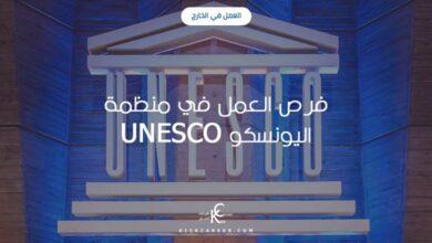 Photo of فرص العمل في منظمة اليونسكو UNESCO