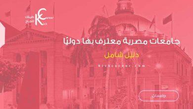 جامعات مصرية معترف بها دوليًا